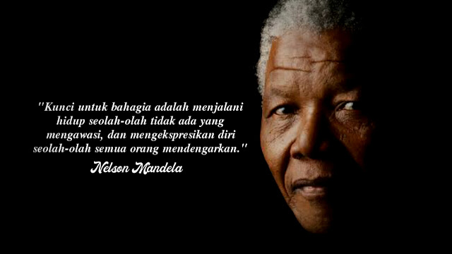 25 Kata Kata Bijak Nelson Mandela Motivasi dan Inspirasi