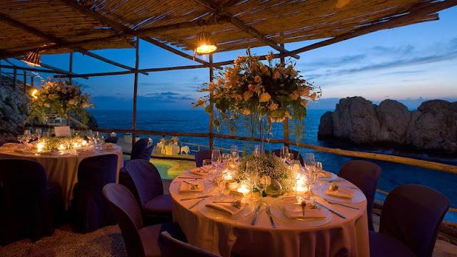Restaurantes em Capri