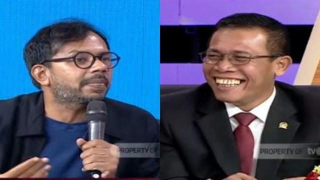 Haris Azhar Bilang Sprinlidik KPK itu Rahasia, Kok Bisa Dibawa Politikus PDIP ke ILC?