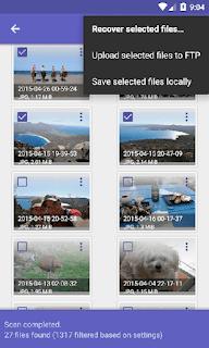 تطبيق استعادة الصور والفيديو والملفات DiskDigger الرائع للاندرويد والكمبيوتر