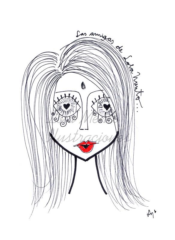 LolaMento, Lola Mento, ilustraciones Lola Mento, ilustraciones LolaMento, cuadros lola mento, cuadros lolamento, frases lola mento, ilustraciones mujeres