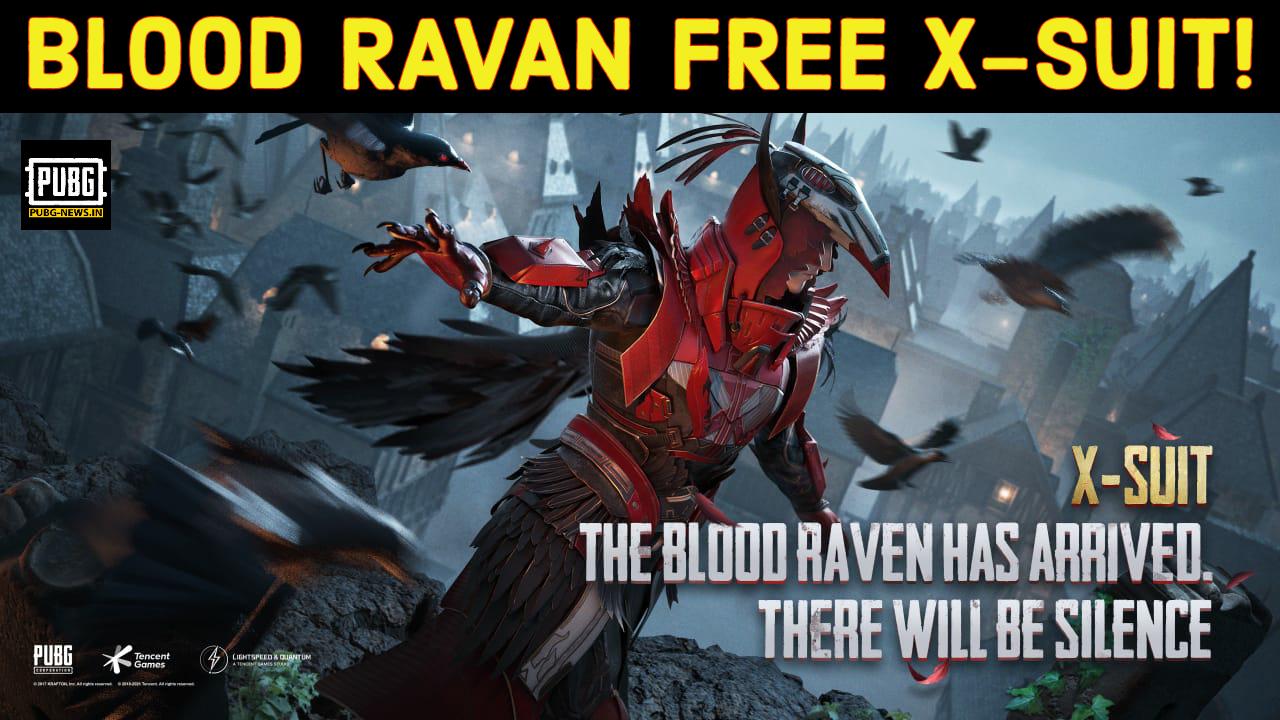 Blood Ravan Free X -suit