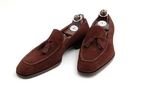 Model sepatu pantofel tassel loafers