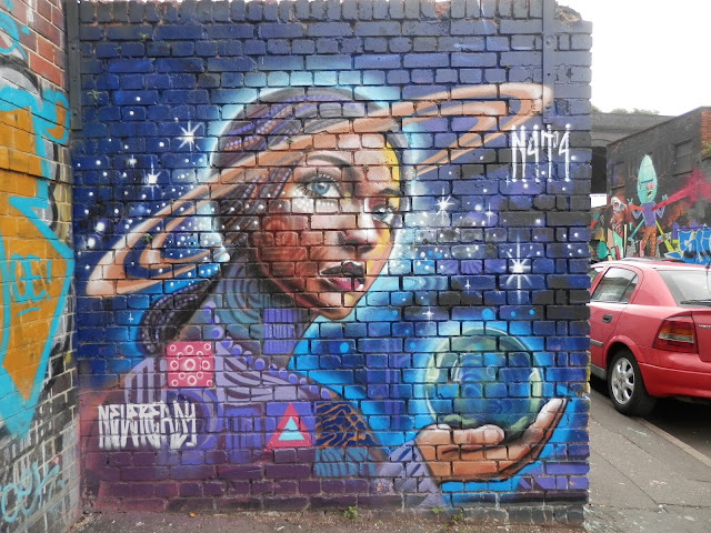 Street art, Digbeth. secondhandsusie.blogspot.com #streetart #graffiti #Digbeth #Birmimgham #UK