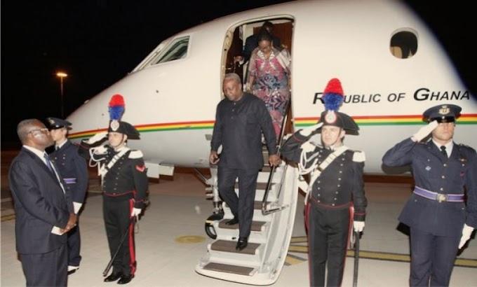 Mahama off to Banjul for Yahya Jammeh mediation talks