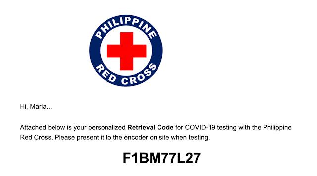 Red Cross Saliva Test