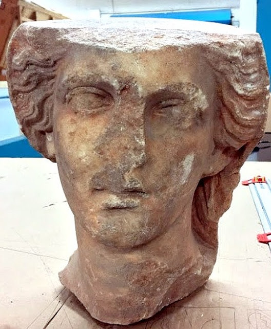 Libya retrieves stolen bust from the US