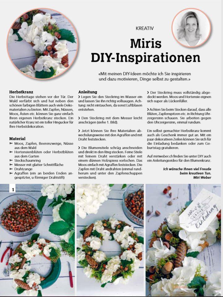 DIY Blog Schweiz, DIY Bloggerin Schweiz, Herbstkranz selber machen, DIY Herbstkranz, Herbstdekoration, DIY