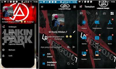 BBM MOD Linkin Park Transparan v3.1.0.13 APK Terbaru Update 2016