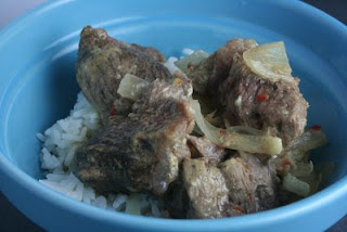 Slow Cooker Coconut Beef from A Year of Slow Cooking found on SlowCookerFromScratch.com