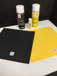 Glossy Poster Board Spray Paint