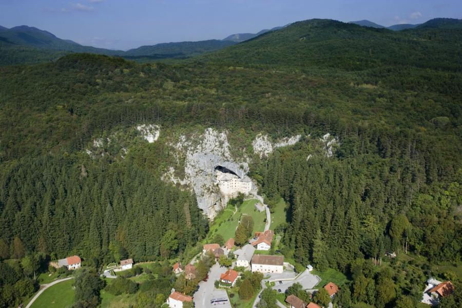 Predjama Castle Slovenia
