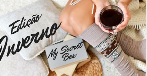 Caixinha de produtos My Secret Box de Julho - tema inverno