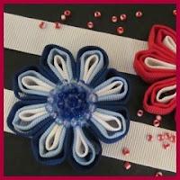 Flores de cintas