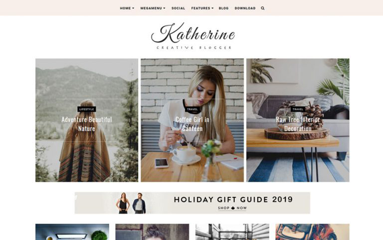 Personal Blog Blogger Templates