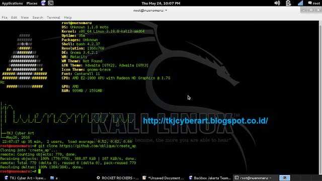 Cara SHARING KONEKSI WIFI internet di Linux