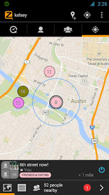 zello app allows you to talk to other people who are nearby