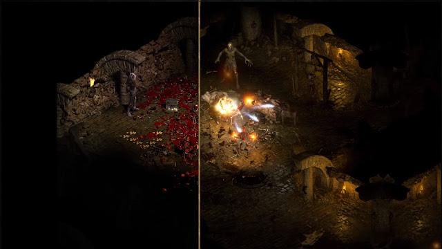 Comparación Diablo II Resurrected