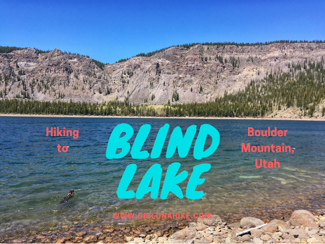 Hiking to Blind Lake, Boulder Mountain