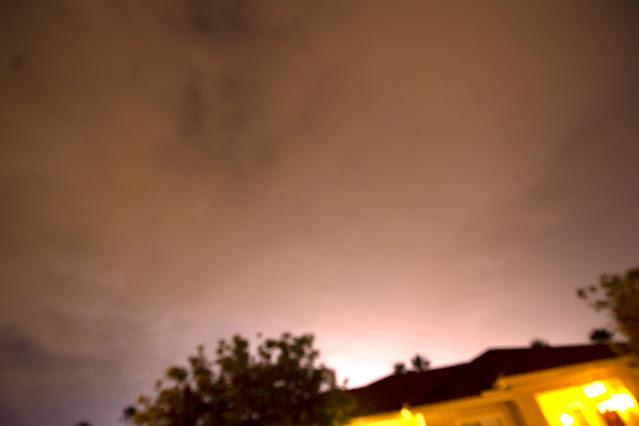 Finally, a lightning flash, DSLR, 10mm, 15 seconds (Source: Palmia Observatory)