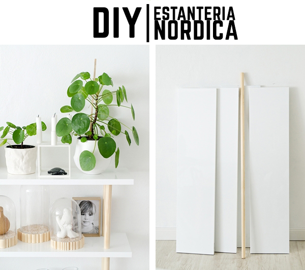 Diy estanter a de estilo n rdico the deco soul - Estanteria nordica ...
