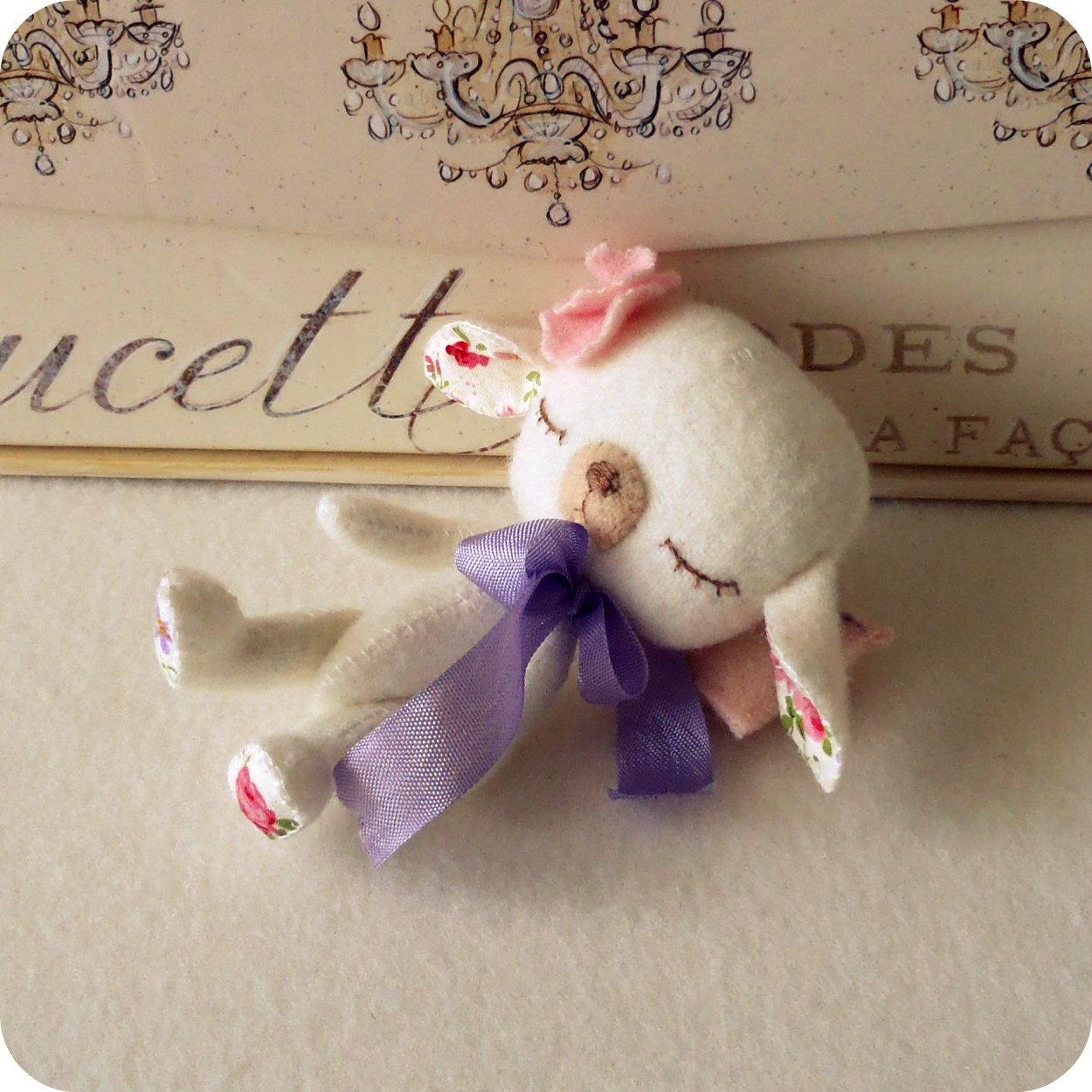 Gingermelon Dolls Lullaby Lamb And A Bunny Babushka
