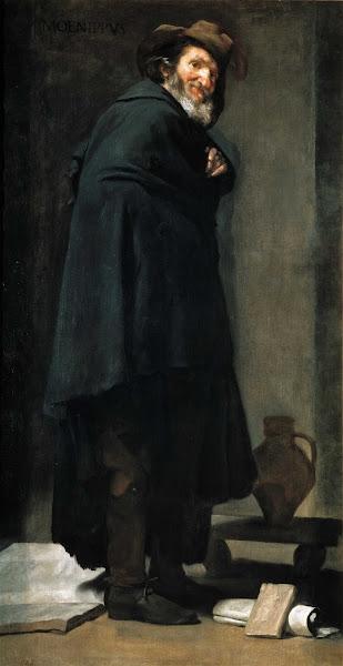 Диего Веласкес - Менипп, гадаринский циник и сатирик (1639-1640)