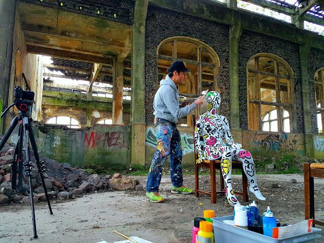 Charbonnage N°10 du Gouffre Charleroi - Clip de Musique et shooting photo de Ben Heine -