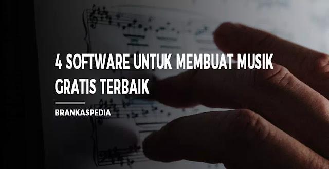 software untuk membuat musik gratis terbaik