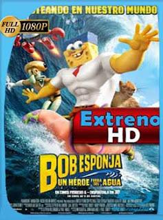 Bob Esponja: Un héroe fuera del agua  (2015) HD [1080p] Latino [Mega] dizonHD
