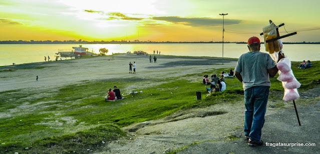 Pôr do sol no Guaíba, Porto Alegre