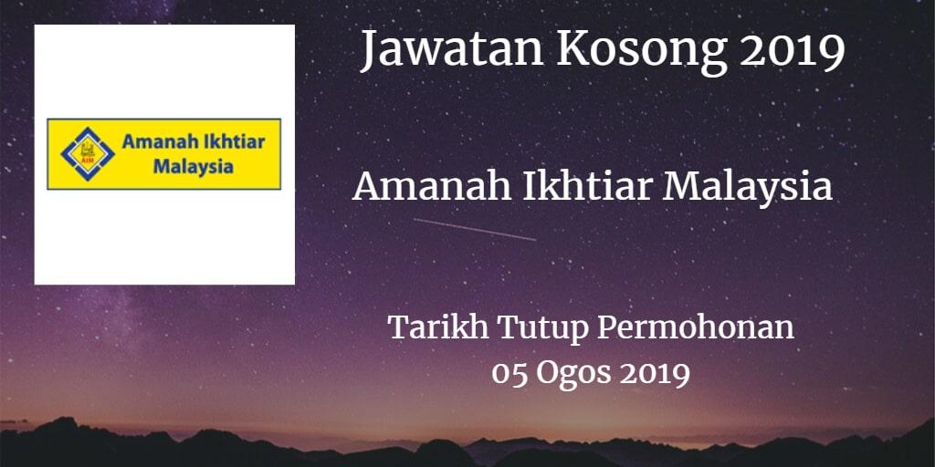 Jawatan Kosong AIM 05 Ogos 2019