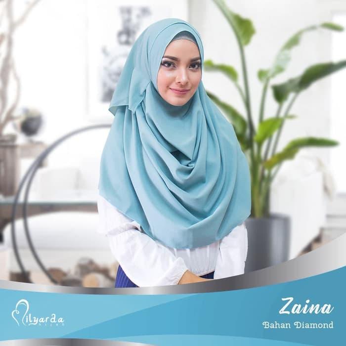 Jilbab Kerudung Zaina Instan - Jilbab Modis Syari Terbaru