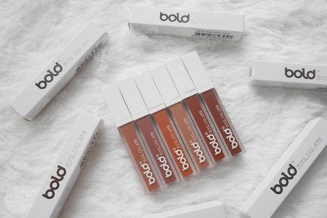 :: สวอซสีรีวิว ลิปสติก bold Cosmetique 6 สี สวยหรู ดูแพง ::