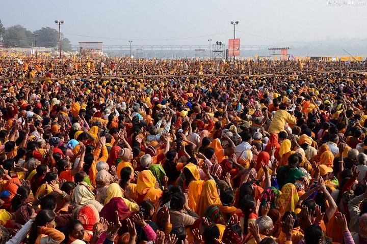 Kerumunan-kerumunan Orang Dalam Jumlah Terbesar di Dunia
