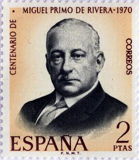 CENTENARIO DEL NACIMIENTO DE MIGUEL PRIMO DE RIVERA