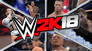 WWE 2K18 pc game wallpapers|screenshots|images