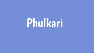 Phulkari Baani Sandhu Whatsapp Status