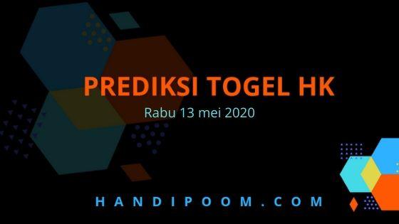 Prediksi Togel Hk rabu 13 Mei 2020