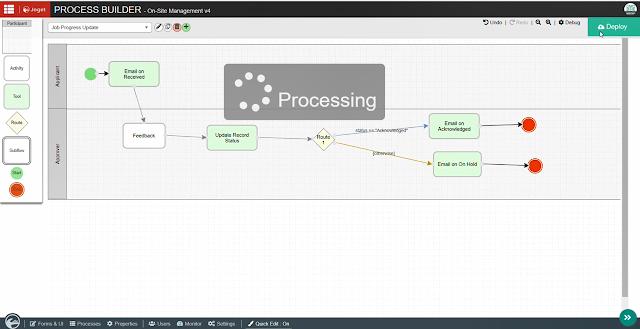 Joget Process Builder