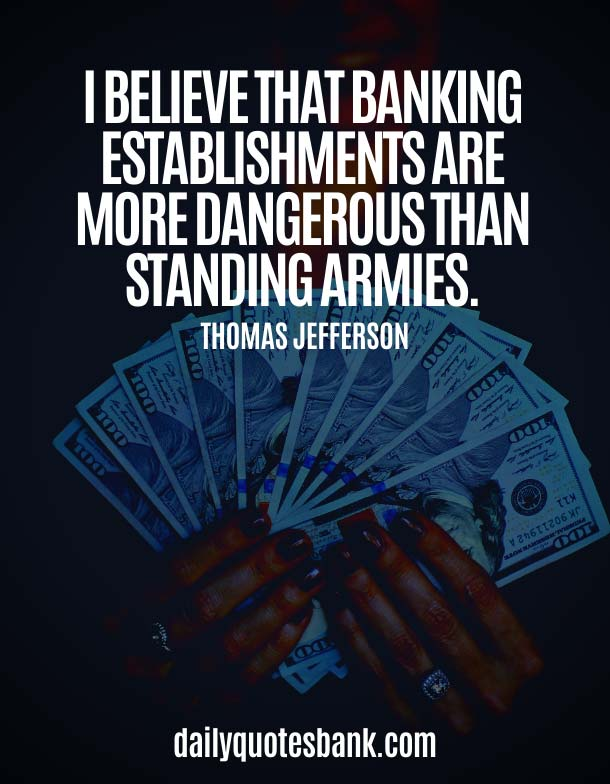 Funny Bank Quotes On Banking System and Saying
