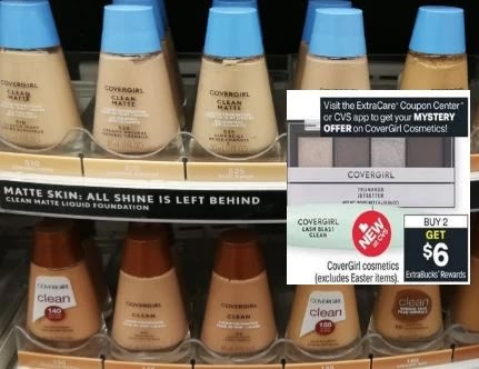 free covergirl foundation cvs deals