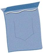 Jean Pocket Purse - Step 3