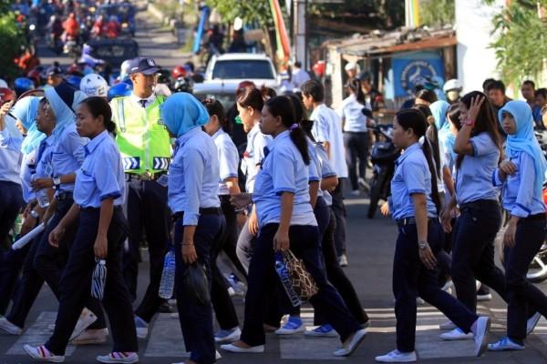 Serikat Buruh Tuntut UMK tahun 2019 senilai Rp 4.481.905.