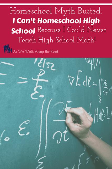 Homeschooling high school math