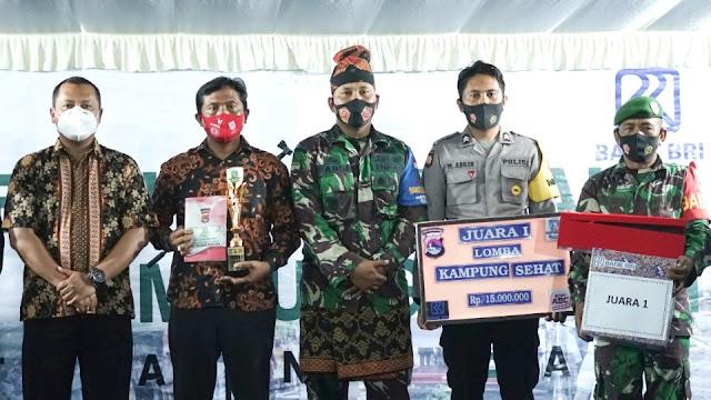 Desa Mura juara 1 Lomba Kampung Sehat tingkat kabupaten