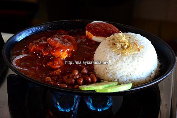 Hot Plate Nasi Lemak