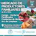 Llega el mercado de productores familiares en Esteban Echeverría