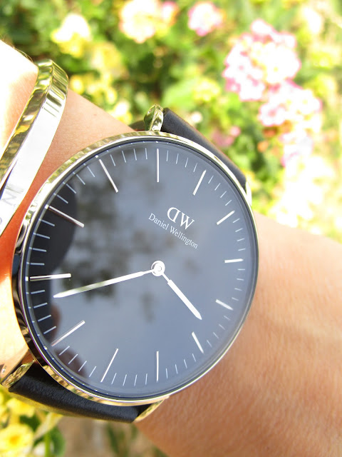 Reloj Daniel Wellington Classic Black y brazalete Classic Cuff