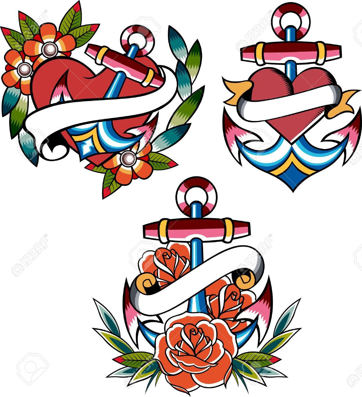 b63fdb526c590 ... Ed Hardy Anchor Tattoos: Tatuajes: Anclas Significado Y Diseños